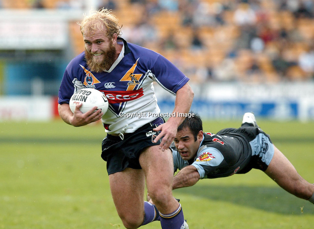 2 May 2004, NRL, New Zealand Warriors vs Melbourne Storm, Ericsson Stadium, Auckland, New Zealand.<br />