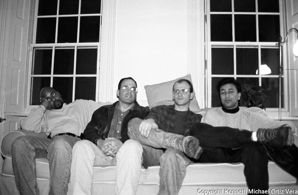 Ernie, Dio, Mike & Raj