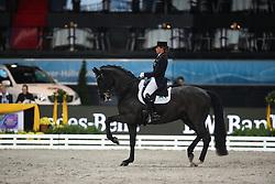 Schneider Dorothee, (GER), Ullrich Equine's St Emilion<br /> Grand Prix Dressage<br /> Stuttgart - German Masters 2015<br /> © Hippo Foto - Stefan Lafrentz