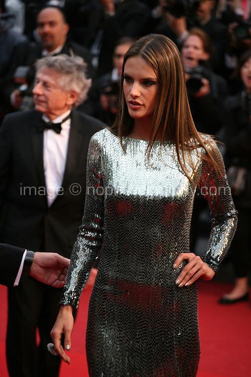 Alessandra Ambrosio at the All Is Lost film gala screening at the Cannes Film Festival Wednesday 22nd May 2013