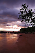 Sunset at The Beach - Maui, Hawaii