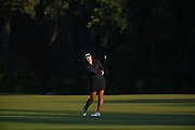 Luciane Lee during the final round of Stage 3 of LPGA Q-School on the Hills Course at LPGA Internation in Daytona Beach, Florida on Dec. 4, 2016.<br /> <br /> <br /> ©2016 Scott A. Miller