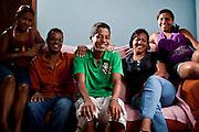 Contagem_MG, Brasil...Projeto De Volta pra Casa, em Contagem, Minas Gerais. O projeto visa tirar criancas de abrigos e leva-las de volta aos seus lares. Na foto, garoto que voltou para a casa gracas ao project...De volta pra casa project, in Contagem, Minas Gerais. The project aims to get children from shelters and take them back to their homes. In the photo, the boy who returned home thanks to the project...Foto: LEO DRUMOND / NITRO