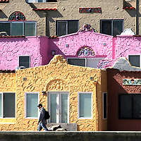 Shmuel Thaler/Sentinel<br />The colorful Capitola Venetians are one of the trademarks of Capitola Village.