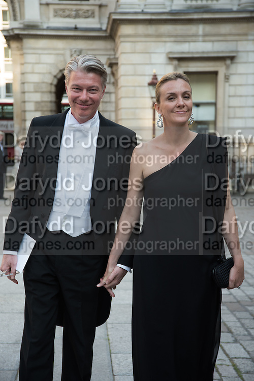 DANIEL SCIAMMA; SYBILLE SCIAMMA, Royal Academy Annual dinner, Piccadilly, London. 6 June 2016
