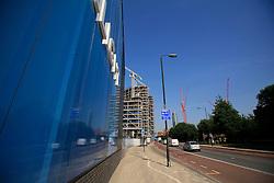 UK ENGLAND LONDON 5SEP13 - Riverlight urban development project at Nine Elms Lane, Vauxhall, central London.<br /> <br /> jre/Photo by Jiri Rezac<br /> <br /> &copy; Jiri Rezac 2013