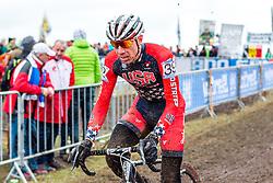 Jeremy Powers (USA), Men Elite, Cyclo-cross World Championship Tabor, Czech Republic, 1 February 2015, Photo by Pim Nijland / PelotonPhotos.com