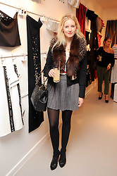 SAVANNAH MILLER at the H&M Home Launch held at 174-176 Oxford Street, London W1 on 2nd November 2010.