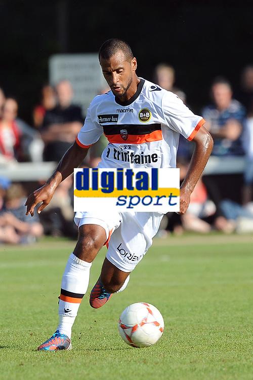 FOOTBALL - FRIENDLY GAMES 2012/2013 - STADE RENNAIS v FC LORIENT - 21/07/2011 - PHOTO PASCAL ALLEE / DPPI - ALAIXYS ROMAO (FCL)