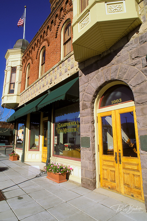The historic Union Oil building (1890) on Main Street, Santa Paula, California