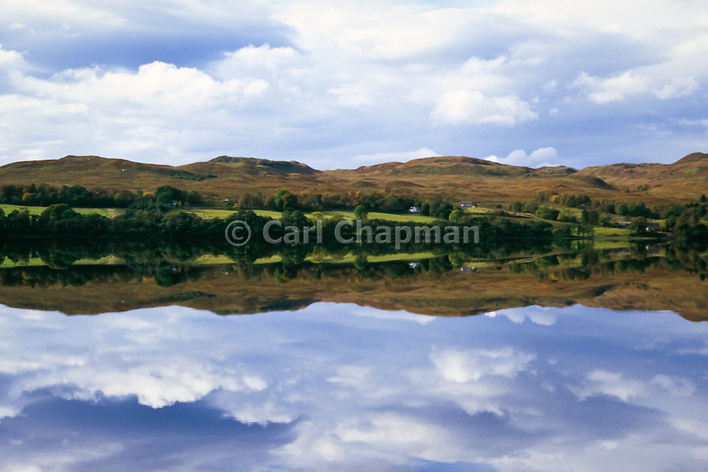 Lake and mountains reflection - Loch Awe, Scotland