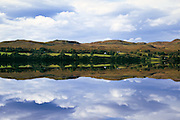 Lake and mountains reflection - Loch Awe, Scotland <br /> <br /> Editions:- Open Edition Print / Stock Image