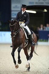 Bouten Matthias, (GER), Sohnlein Brilliant MJ<br /> Grand Prix Dressage München 2015<br /> © Hippo Foto - Stefan Lafrentz