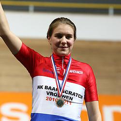 Winanda Spoor Nederlands kampioene scratch