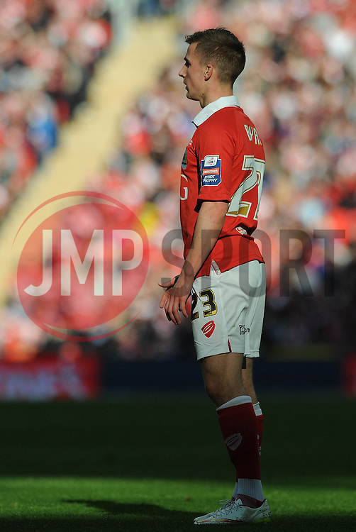 Bristol City's Joe Bryan - Photo mandatory by-line: Dougie Allward/JMP - Mobile: 07966 386802 - 22/03/2015 - SPORT - Football - London - Wembley Stadium - Bristol City v Walsall - Johnstone Paint Trophy Final