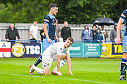 Leeds United Jack Clarke (11), on loan from Tottenham Hotspur, reacts during the Pre-Season Friendly match between Tadcaster Albion and Leeds United at i2i Stadium, Tadcaster, United Kingdom on 17 July 2019.
