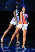 """November 22, 2009; Rancho Mirage, CA, USA; Miss Downey Teen USA Ashley Campuzano during the Miss California Teen USA 2010 Pageant at """"The Show"""" at the Agua Caliente Resort & Spa. Mandatory Credit: Kyle Terada-Terada Photo"""