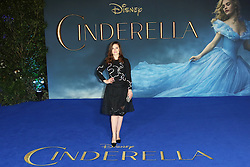 © Licensed to London News Pictures. 19/03/2015, UK. Hayley Atwell, Lily James, Cinderella - UK film premiere, Leicester Square, London UK, 19 March 2015. Photo credit : Richard Goldschmidt/Piqtured/LNP