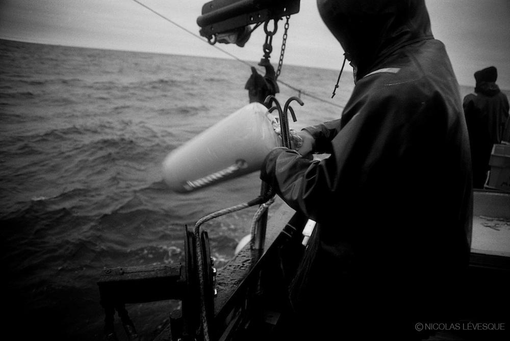 Pêche au Crabe. Golfe St-Laurent, Canada 2005
