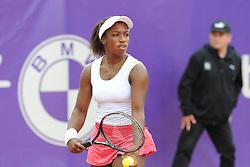 May 20, 2018 - France - Internationaux de tennis de Strasbourg - Sachia Vickery USA (Credit Image: © Panoramic via ZUMA Press)