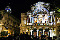 Theatre building in the center of Avignon, France.