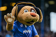 Portsmouth mascot during the Sky Bet League 2 match between Portsmouth and Crawley Town at Fratton Park, Portsmouth, England on 2 January 2016. Photo by Adam Rivers.