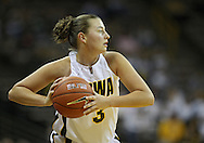 December 22 2010: Iowa forward Kalli Hansen (3) during the first half of an NCAA college basketball game at Carver-Hawkeye Arena in Iowa City, Iowa on December 22, 2010. Iowa defeated Northern Iowa 75-64.
