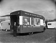 Wills Showmobile at Clondalkin, Dublin..20.04.1961