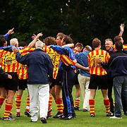 Finale Amstelcup amateurs 2004, VV Sneek - Ter Leede, blijdschap, spelers