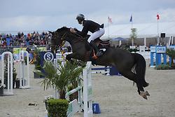 Van Paesschen Constant, (BEL), Compadre van de Helle<br /> CSI4* Qualifikation DKB-Riders<br /> Horses & Dreams meets Denmark - Hagen 2016<br /> © Hippo Foto - Stefan Lafrentz