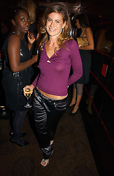 FRANCESCA VERSACE at a party to celebrate the 50th Anniversary of Gina Shoes held at The Bar, The Dorchester, Park Lane, London on 19th September 2006.<br /><br />NON EXCLUSIVE - WORLD RIGHTS