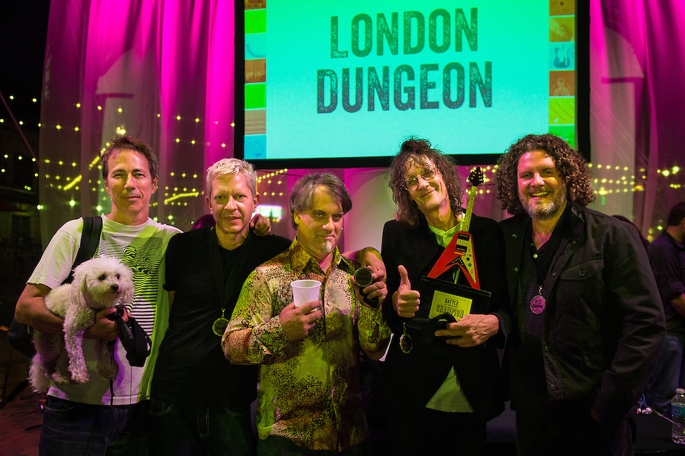 The winners - London Dungeon