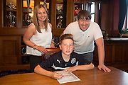 - Dundee Academy signings<br />  - &copy; David Young - www.davidyoungphoto.co.uk - email: davidyoungphoto@gmail.com