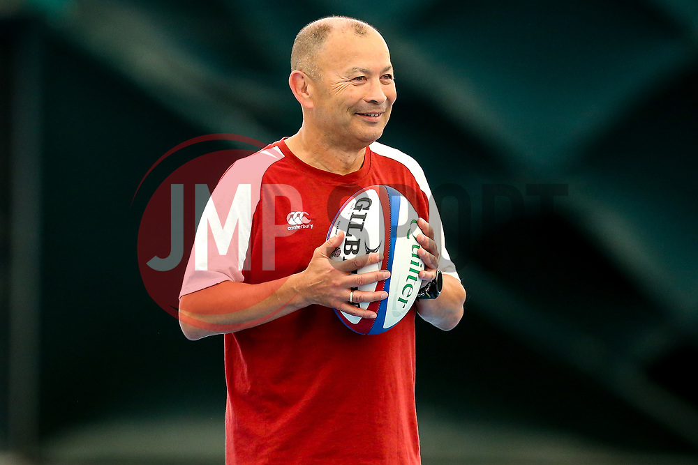 England Head Coach Eddie Jones looks on during a training session at Clifton College - Mandatory by-line: Robbie Stephenson/JMP - 15/07/2019 - RUGBY - England - England training session ahead of Rugby World Cup