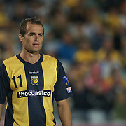 Dylan Macallister in action during the AFC Champions League group H match between Central Coast Mariners (Australia) and Kawasaki Frontale (Japan) at Gosford Stadium, Australia on April 08, 2009. Kawasaki won the game 5-0.  Photo Tim Clayton