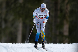 13.12.2014, Davos, SUI, FIS Langlauf Weltcup, Davos, 15 km, Herren, im Bild Martin Johansson (SWE) // during Cross Country, 15km, men at FIS Nordic world cup in Davos, Switzerland on 2014/12/13. EXPA Pictures &copy; 2014, PhotoCredit: EXPA/ Freshfocus/ Christian Pfander<br /> <br /> *****ATTENTION - for AUT, SLO, CRO, SRB, BIH, MAZ only*****