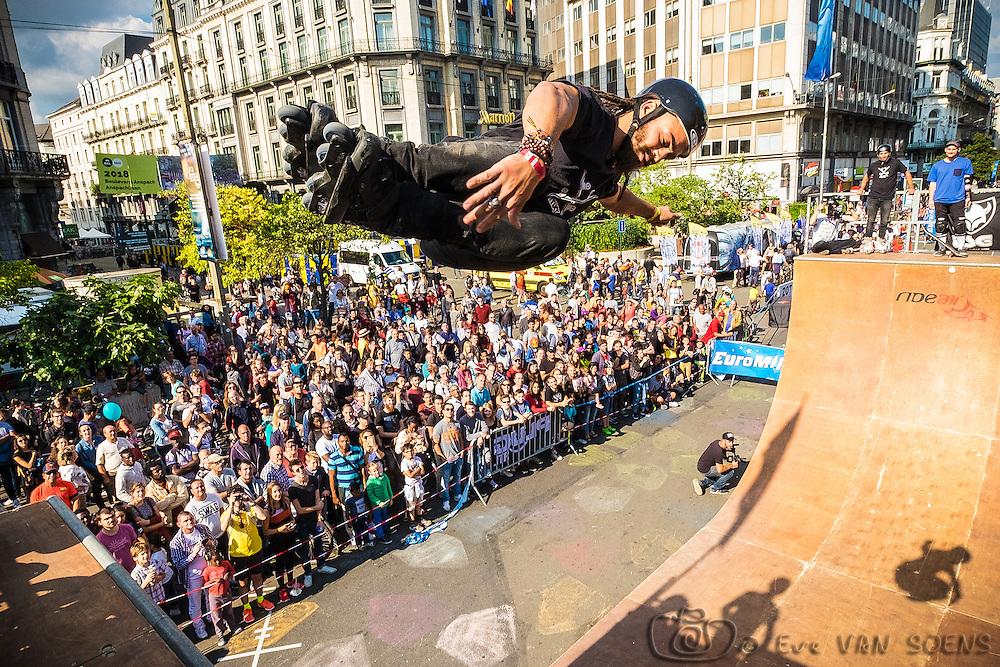 Zot Day 2016 - Dimanche sans voiture à Bruxelles. Jeremy SUAREZ