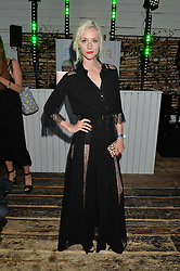 PORTIA FREEMAN at the Warner Music Group & GQ Summer Drinks hosted in asociation with Quintessentially at Shoreditch House, Ebor Street, London on 6th July 2016.