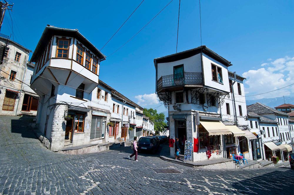 Unesco Weltkulturerbe Gjirokaster, Albanien,Balkan*Unesco world heritage sight Gjirokaster, Albania,Balkan