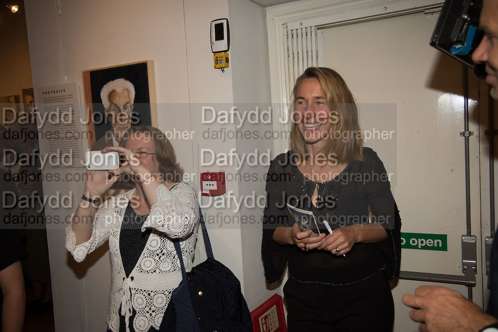 NELL BUTLER, Exhibition opening of paintings by Charlotte Johnson Wahl. Mall Galleries. London, 7 September 2015.