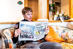 20.02.2019, Seefeld, AUT, FIS Weltmeisterschaften Ski Nordisch, Seefeld 2019, Nordische Kombination Reportage, im Bild Franz Josef Rehrl (AUT) // Fanz Josef Rehrl of Austria during a Photoseries of Austrian Nordic Combined Team for the FIS Nordic Ski World Championships 2019. Seefeld, Austria on 2019/02/20. EXPA Pictures © 2019, PhotoCredit: EXPA/ JFK