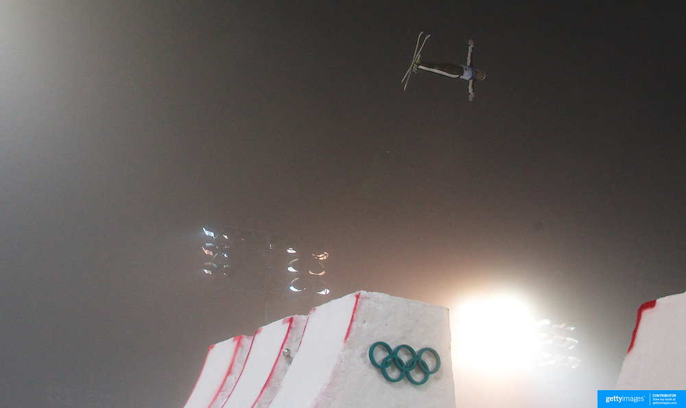 Winter Olympics, Vancouver, 2010.Lydia Lassila, Australia, wins Gold during the Freestyle Skiing Ladies' Aerials Final  at Cypress Mountain, during the Vancouver Winter Olympics. 24th February 2010. Photo Tim Clayton