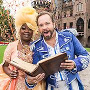 NLD/Utrecht/20180912 - Cast presentatie The Christmas Show 2018, Carlo Boszhard en Berget Lewis