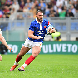 Louis Picamoles of France during the Guinness Six Nations match between Italy and France on March 16, 2019 in Rome, Italy. (Photo by Dave Winter/Icon Sport)