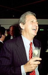 MR ROBERT LACEY the writer, at a party on April 22nd 1997.LXW 38