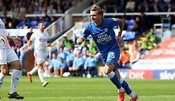 Jason Cummings of Peterborough United celebrates scoring his second goal of the game - Mandatory by-line: Joe Dent/JMP - 18/08/2018 - FOOTBALL - ABAX Stadium - Peterborough, England - Peterborough United v Luton Town - Sky Bet League One