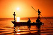 Flatboat fly fishing, Florida Keys