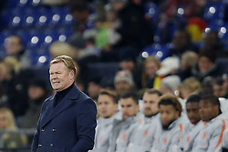 Holland coach Ronald Koeman during the UEFA Nations League A group 1 qualifying match between Germany and The Netherlands at the Veltins Arena on November 19, 2018 in Gelsenkirchen, Germany