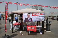 Election posters and signs Istanbul May 2015