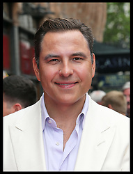 Image licensed to i-Images Picture Agency. 13/07/2014. London, United Kingdom. David Walliams at the World premiere of Pudsey The Dog : The Movie in London.  Picture by Stephen Lock / i-Images